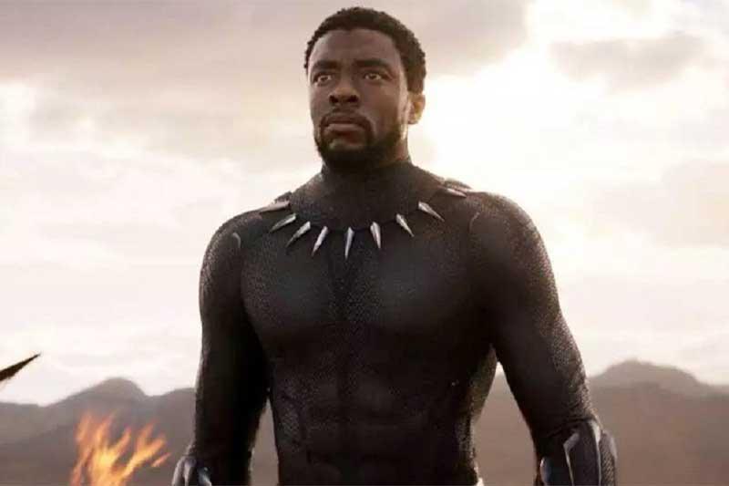 Chadwick Boseman Pantera Negra - Foto Marvel Studios