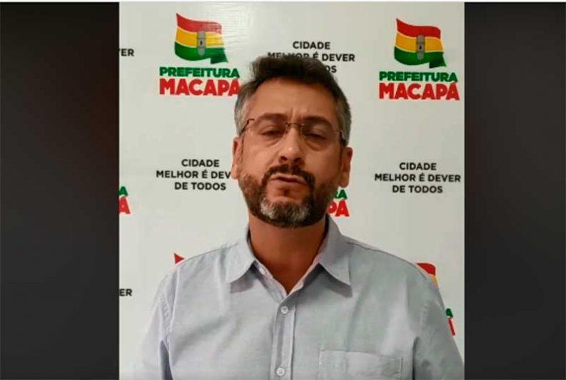 Clécio Luís, prefeito de Macapá - Foto Facebook-Reprodução