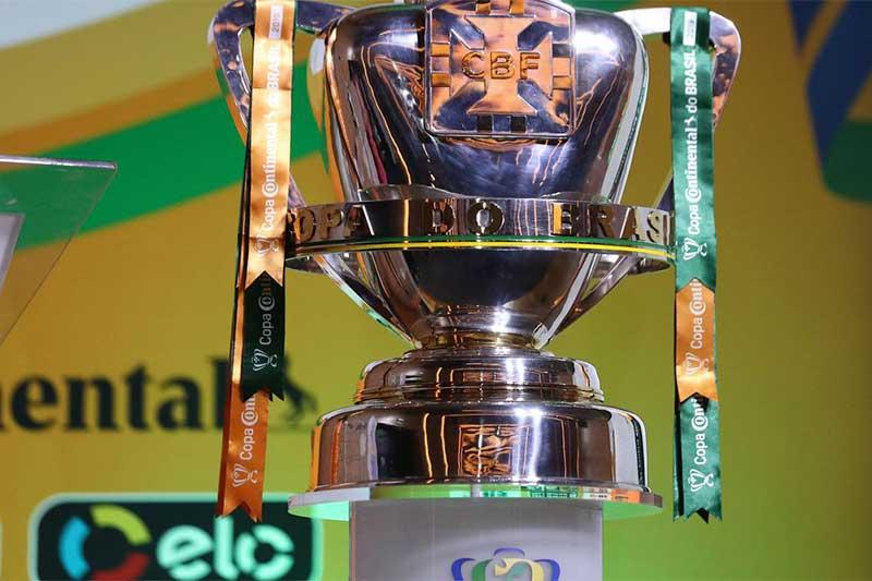 Taça da Copa do Brasil - Foto Lucas Figueiredo-CBF
