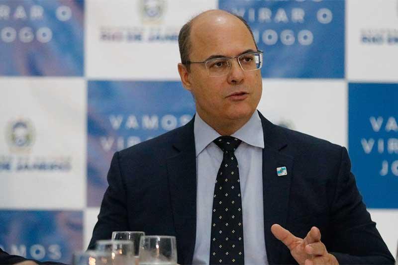 Governador Wilson Witzel Foto Fernando Frazão-ABr