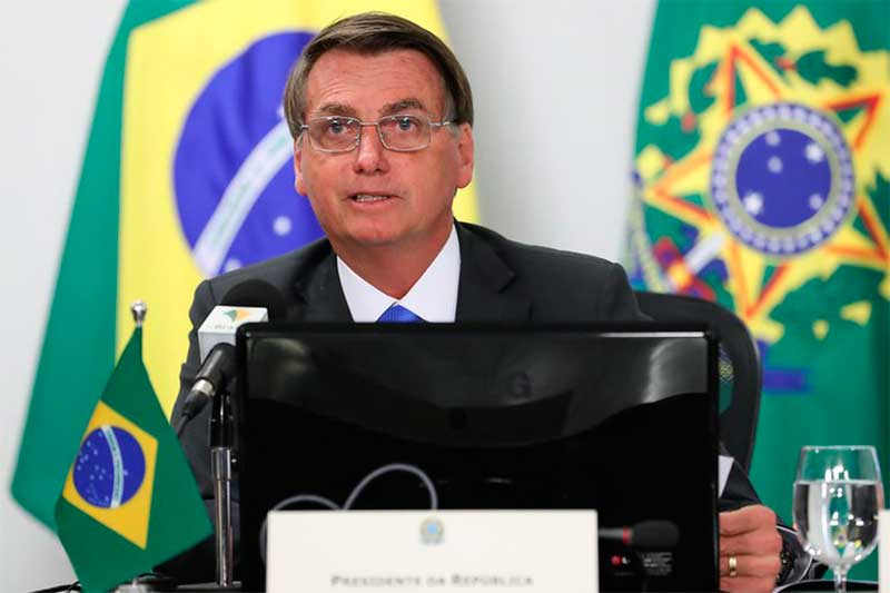 Presidente Jair Bolsonaro - Foto Marcos Corrêa-PR