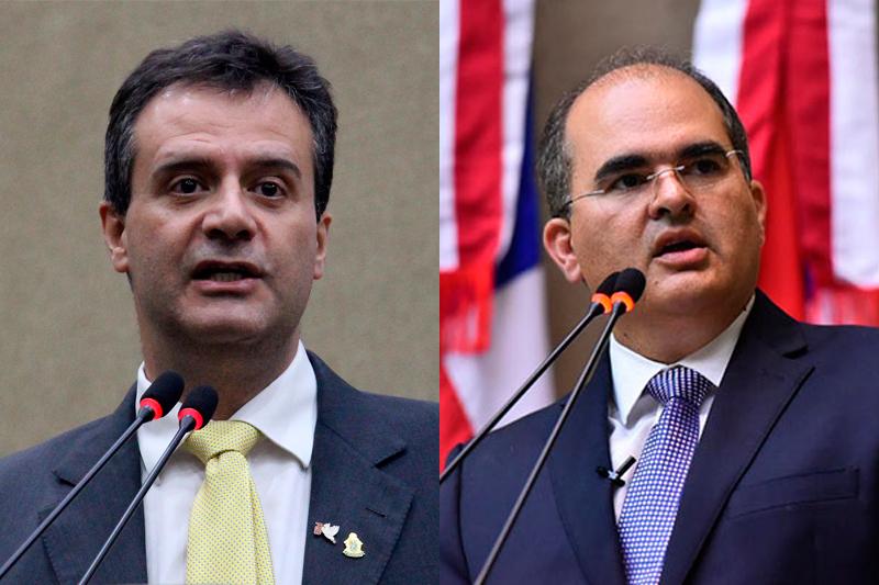 Marcelo Serafim e Ricardo Nicolau