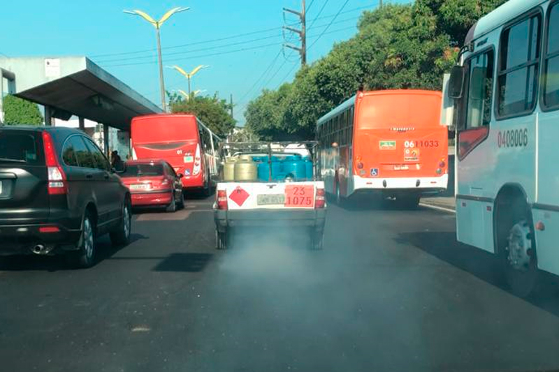 poluição veicular