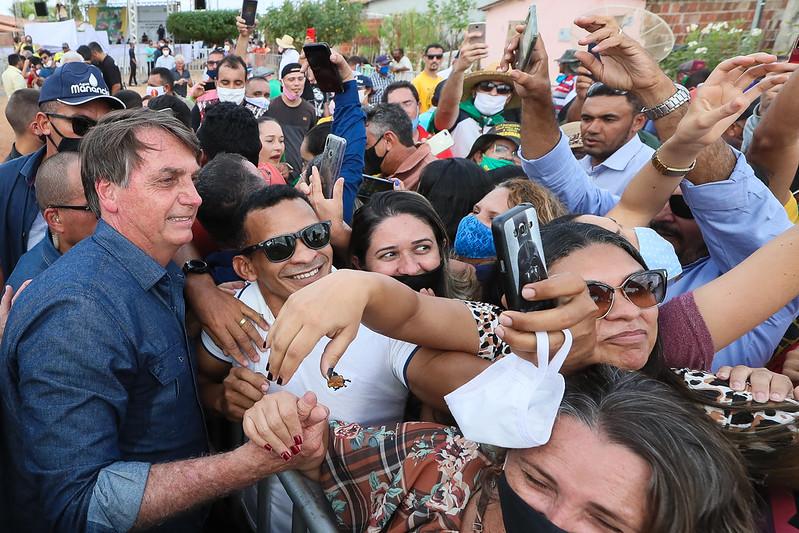 Presidente Jair Bolsonaro no RN