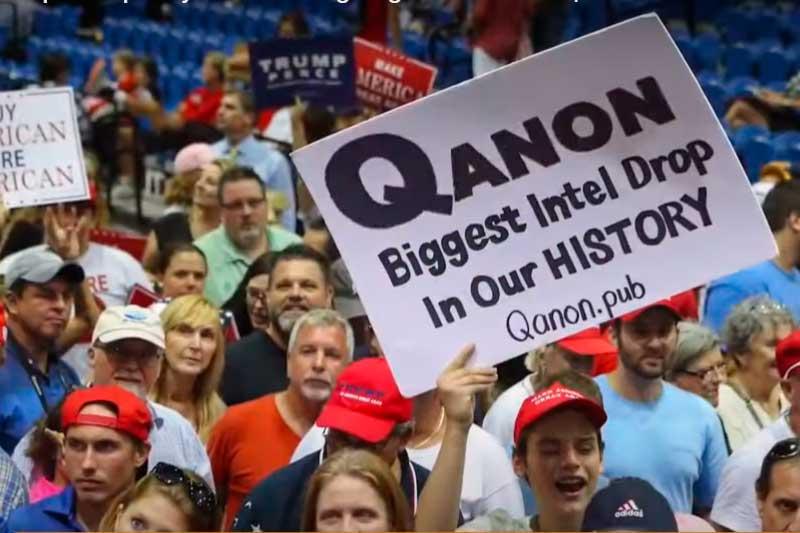 Movimento QAnon surgiu nos EUA - Foto YouTube-Divulgação
