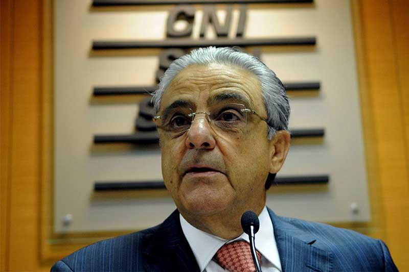 Presidente da CNI Robson Braga de Andrade - Foto YouTube-Reprodução