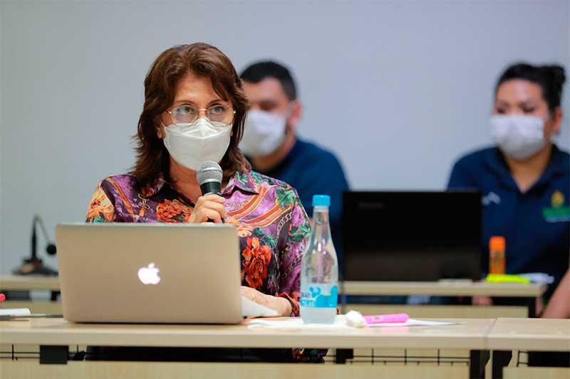 Rosemary Pinto - diretora da FVS