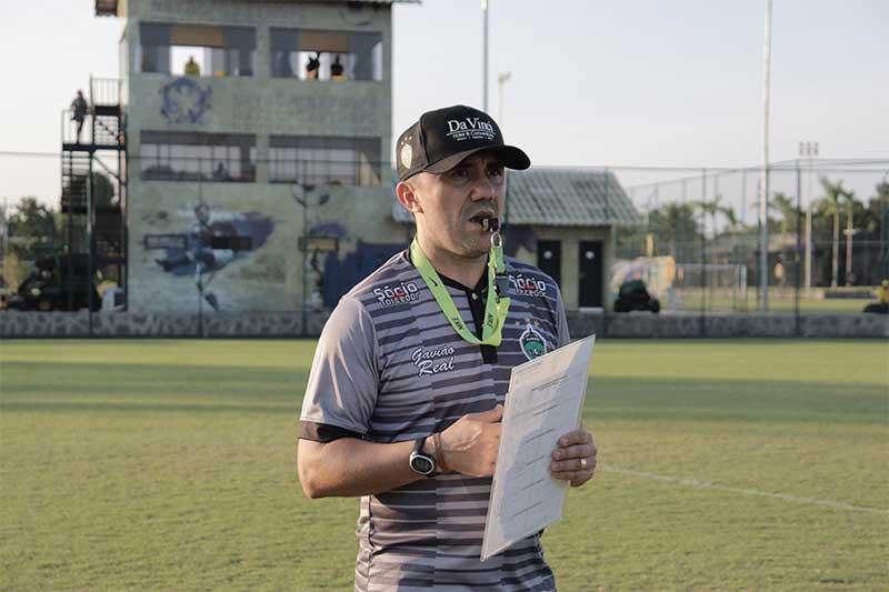 Técnico Luizinho Lopes Foto Leanderson Silva-Manaus FC