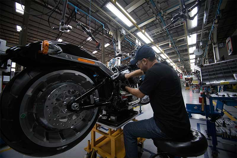 Fábrica da Harley Davson em Manaus - Foto Harley Davson-Divulgação