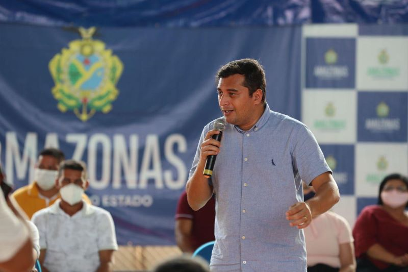 Wilson Lima, governador do Amazonas