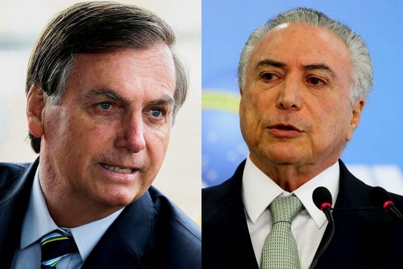 Em nota, Temer se disse honrado com o convite (Foto: Antonio Cruz e Marcelo Camargo/Agência Brasil)