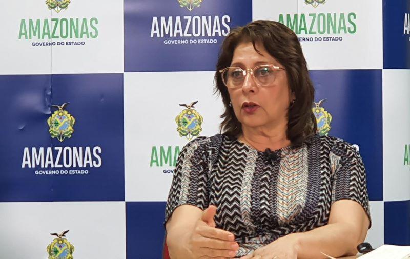 Presidente da FVS Rosimary Costa Pinto