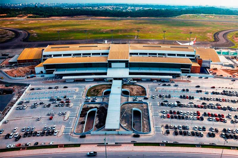 Aeroporto de Manaus (Foto: Infraero/Divulgação)