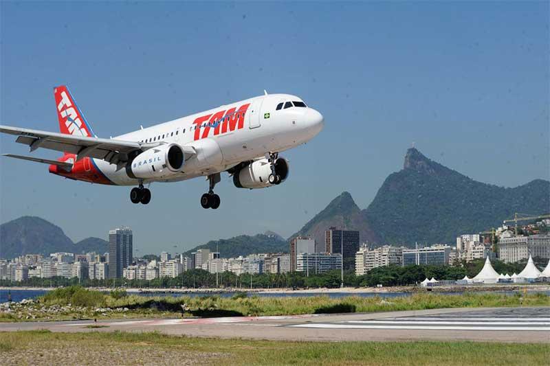 Avião TAM Foto Tãnia Rêgo-ABR