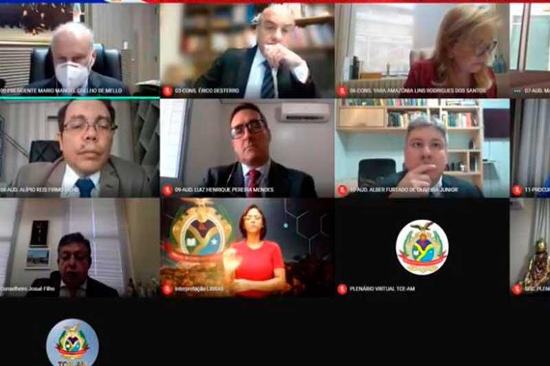 Conselheiros do TCE multaram ex-diretor do EEMU (Foto: TCE/Divulgação)