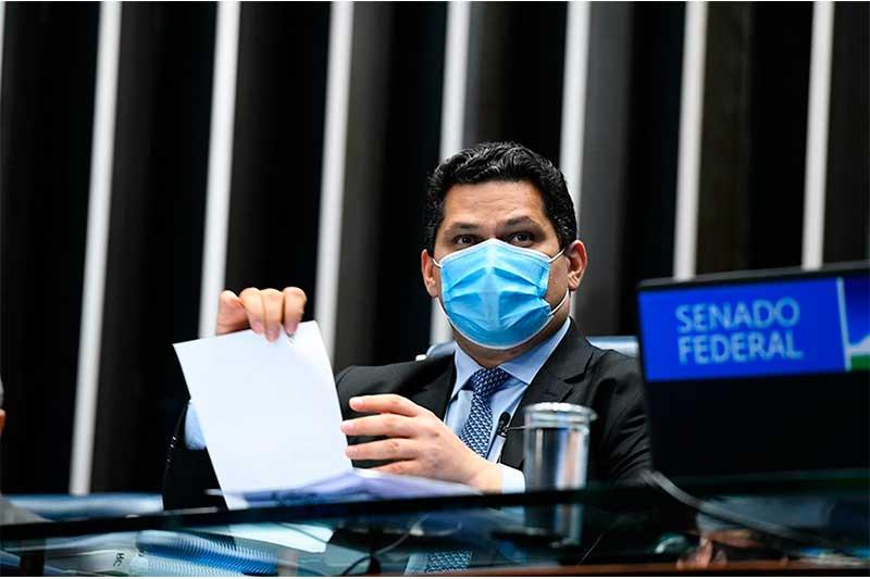 Davi Alcolumbre presidente do Senado Foto Marcos Oliveira-Agência Senado