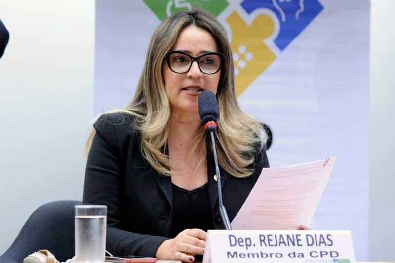 Deputada Rejane Dias Foto Pablo Valadares-Agência Câmara