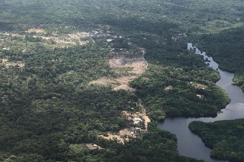 Floresta Amazônica, desmatamento