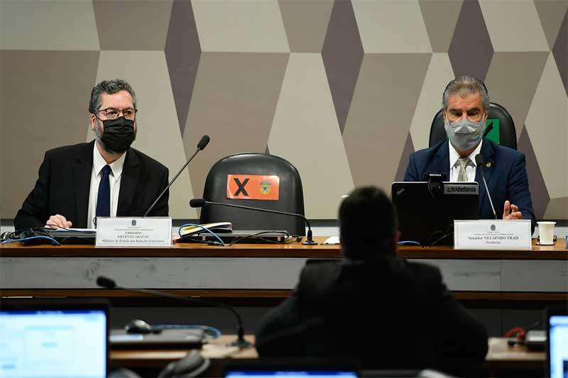 Ernesto Araújo Foto Edilson Rodrigues-Agência Senado