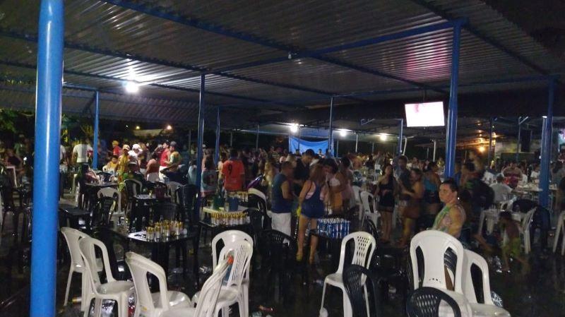 Festa Clandestina em Manaus