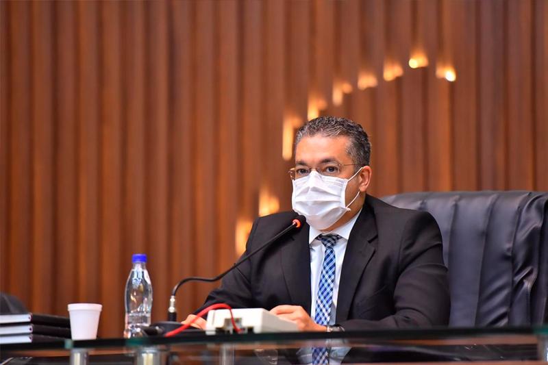 Josué Neto, presidente da Assembleia Legislativa