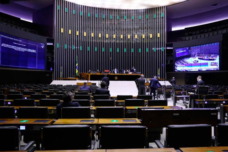 Plenário da Câmara dos Deputados em 01 09 2020