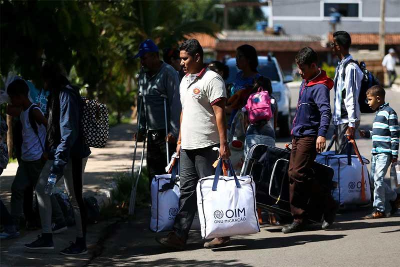 Refugiados venezuelanos Foto Marcelo Camargo/ABr