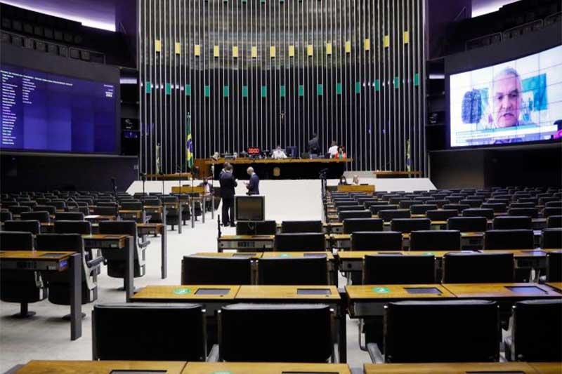 Plenário da Câmara em sessão presencial e virtual (Foto: Maryanna Oliveira/Agência Câmara)