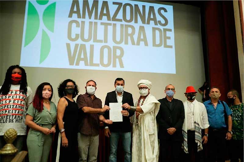 Wilson Lima lançou edital para auxílio ao setor cultural (Foto: Diego-Peres/Secom)