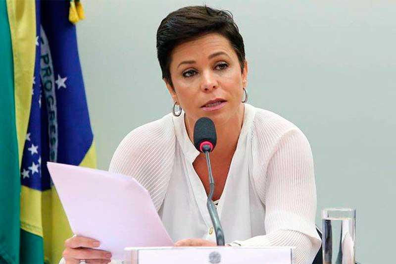 Deputada Cristiane Brasil Foto Gilmar Felix-Câmara dos Deputados
