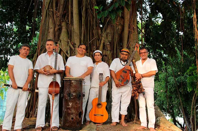 Grupo Raizes Caboclas com a formação atual (Foto: Raízes Caboclas/Divulgação)
