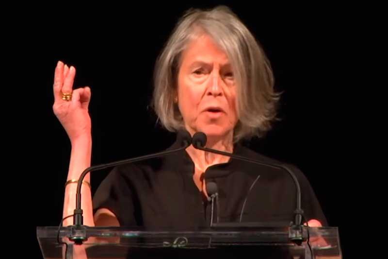 Louise Glück ganhou o Nobel de Literatura (Foto: YouTube/Reprodução)