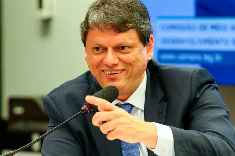 Ministro Tarcisio Freitas (Foto: Jardel Sald/Divulgação)