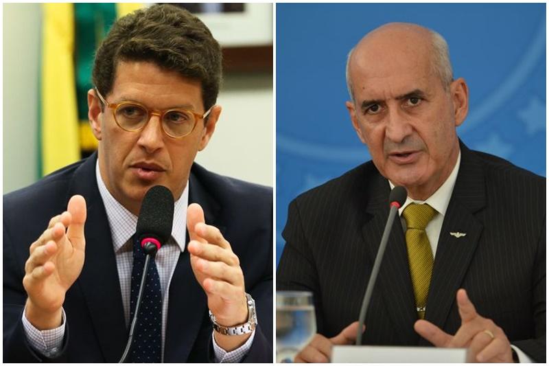 Ricardo Salles e Eduardo Ramos: sem briga política (Fotos: José Cruz e Marcello Casal Jr/ABr)