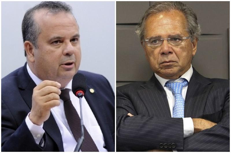 Rogério Marinho e Paulo Guedes se desentenderam sobre programas sociais (Fotos: Lúcio Bernardo Jr/Câmara dos Deputados e Fábrio Rodrigues Pozzebom/ABr)