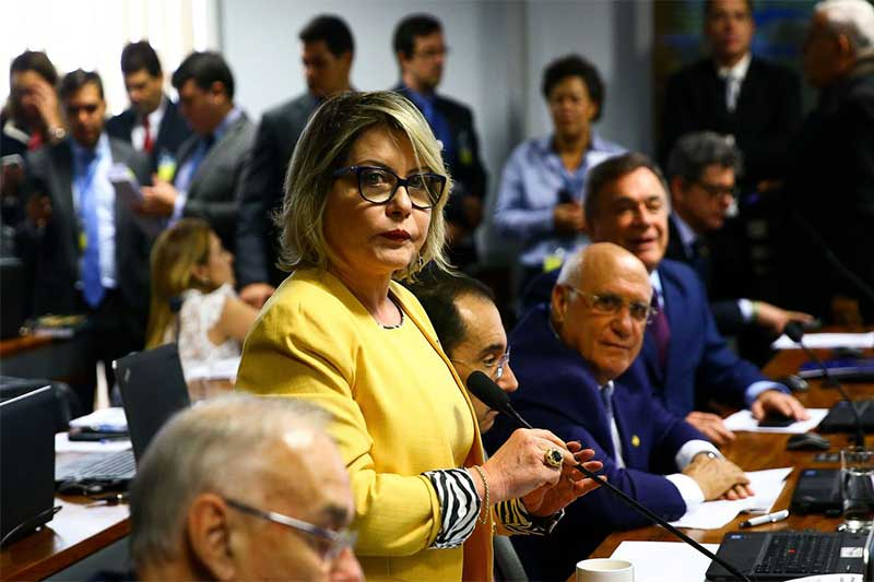 Selma Arruda teve o mandato cassado pelo TSE (Foto: Marcelo Camargo/ABr)