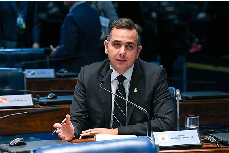 Senador Rodrigo Pacheco (Foto: Jefferson Rudy/Agência Senado)