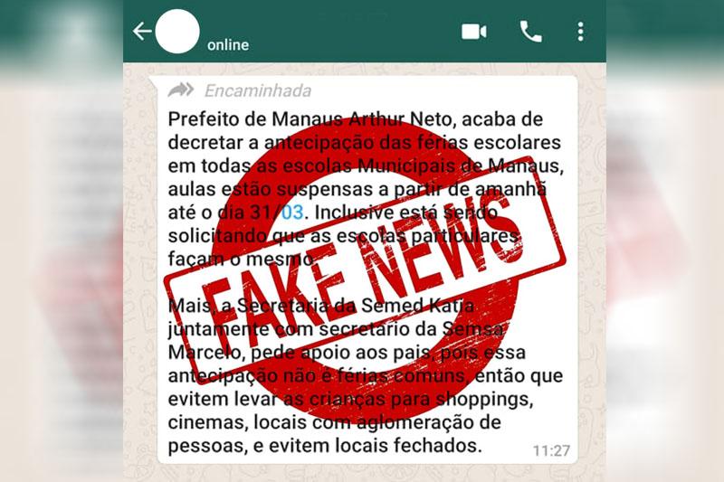 fake news ferias semed