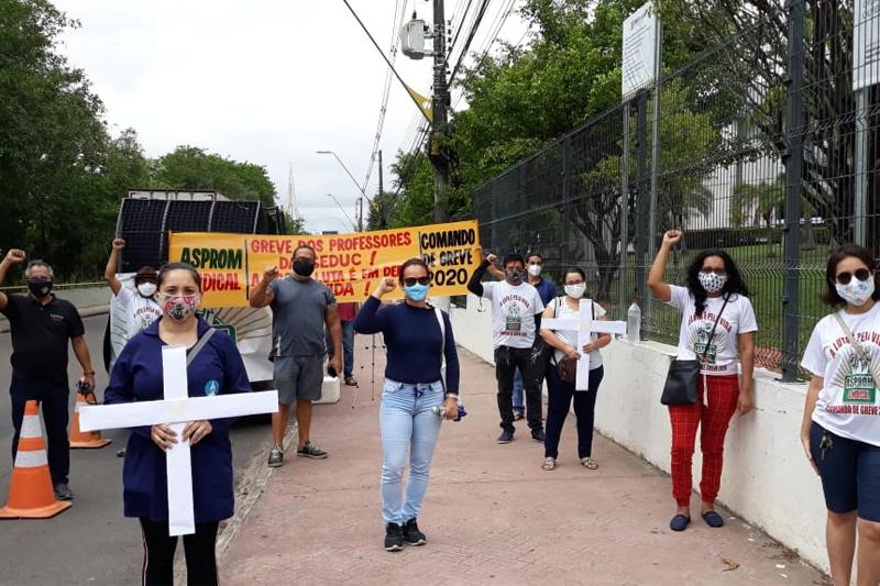 professores greve
