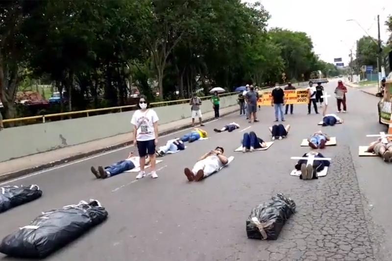 protesto professores asprom