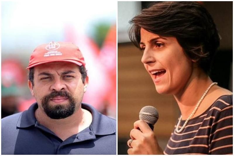Boulos e Manuela D'Avila perderam em São Paulo e Porto Alegre (Fotos: Facebook/Reprodução)