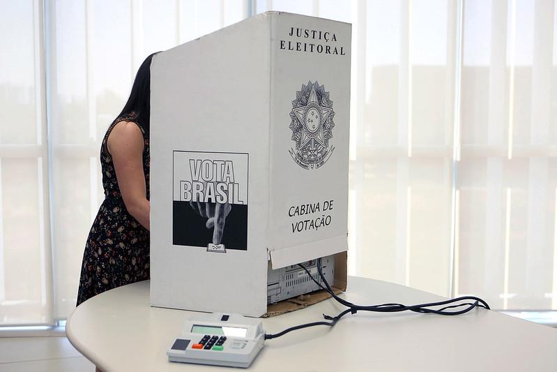 Cabina de Votação