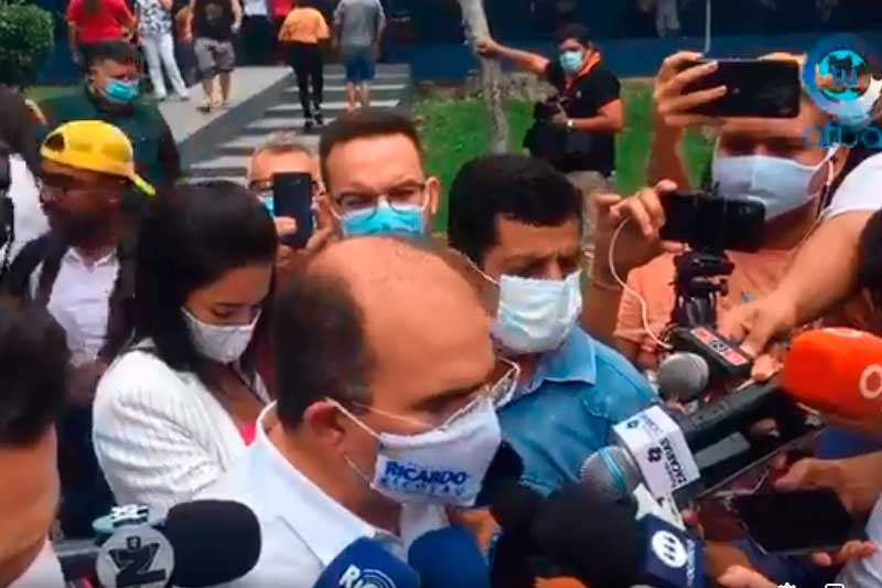 Ricardo Nicolau diz que enfrentou máquina da prefeitura, mas não citou parceria (Foto: Facebook/Reprodução)