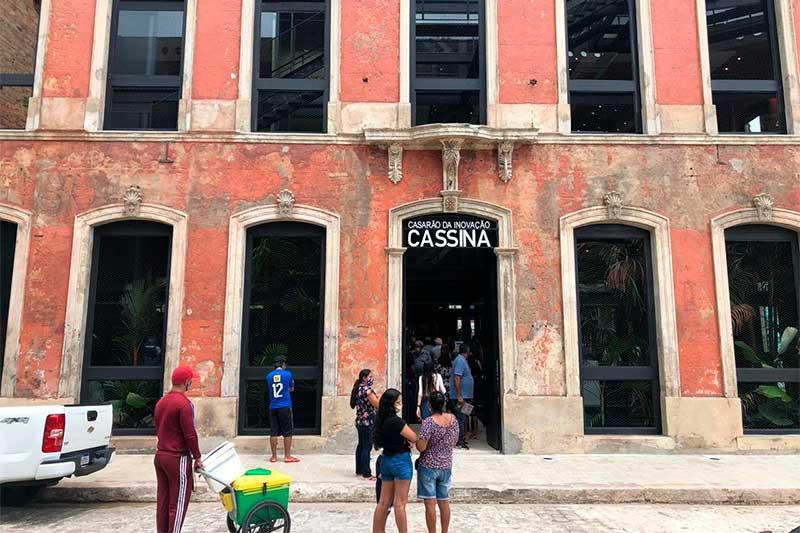 Casarão da Inovação Cassina começa a funcionar em Manaus (Foto: Murilo Rodrigues/ATUAL)