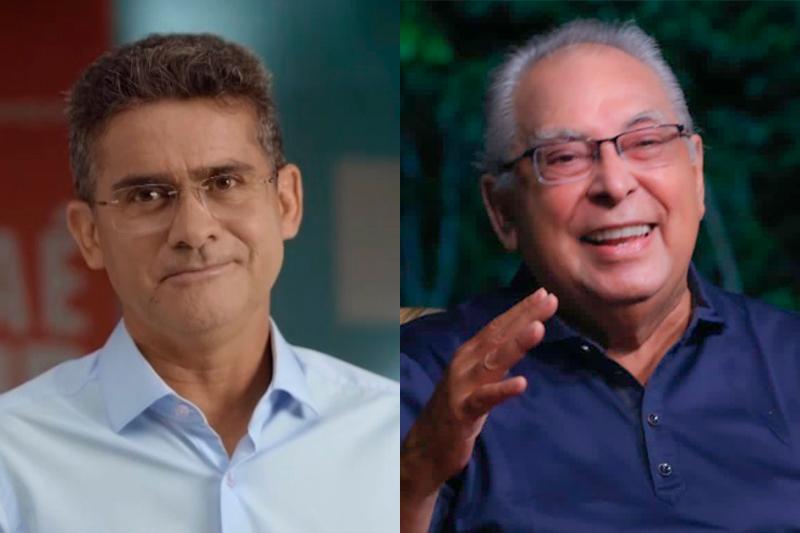 David Almeida e Amazonino Mendes