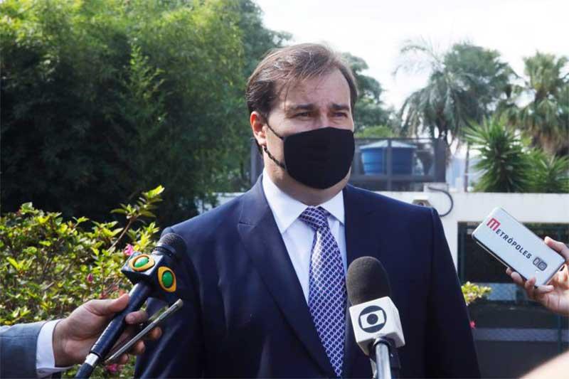 Deputado Rodrigo Maia apelou ao STF contra ações da oposição (Foto: Luís Macedo/Agência Câmara)