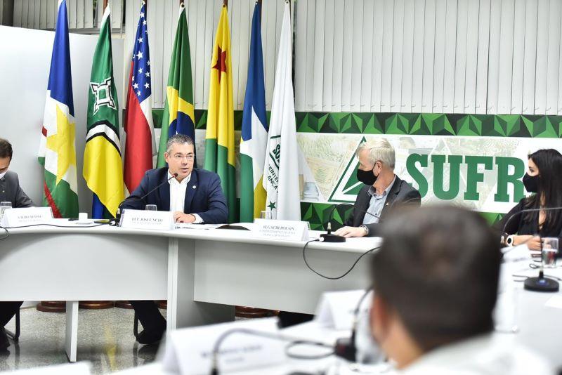 Reunião Suframa, Sudam, Basa e ALE