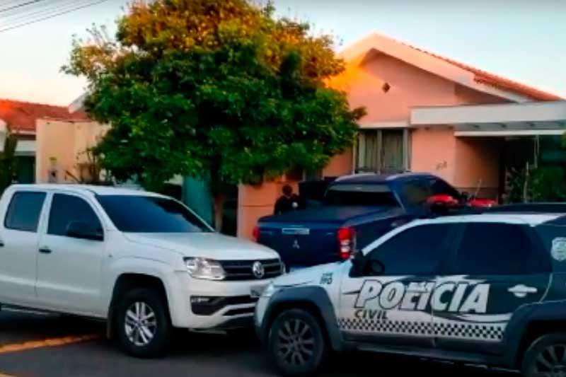 Polícias Civil e Militar cumprem mandados em Manaus (Foto: Reprodução)