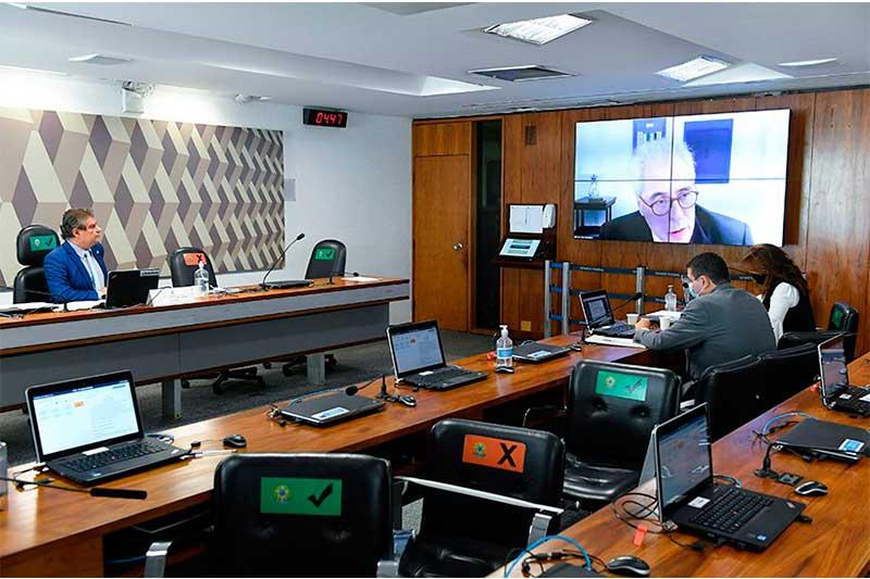 Enio Cordeiro foi sabatinado em comissão do Senado (Foto: Jefferson Rudy/Agência Senado)
