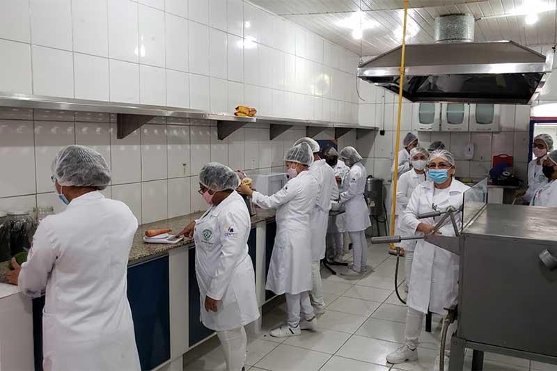 Aulas do curso de gastronomia começam em janeiro (Foto: Centec/Divulgação)